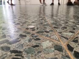 detailing in terrazzo floors the finishing touch wit a braa or