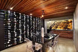 floor to ceiling wine racks houzz