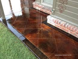 porch flooring ideas concrete flooring staining concrete floors front porch
