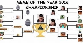 Meme Of The Year - meme of the year 2016 a chionship la meme on me me