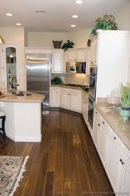 Pictures Of Kitchens Traditional OffWhite Antique Kitchen - White kitchen cabinet pictures