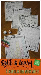 Homeschool Kindergarten Worksheets Kindergarten Worksheets And Games Free Roll U0026 Learn Kindergarten