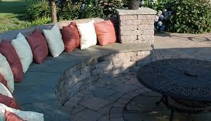 Decorative Cinder Blocks Decorative Concrete Block Seating Wall With Bluestone Caps Yelp