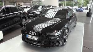 audi dealership interior 2016 audi rs7 start up in depth review interior exterior youtube