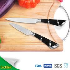 quality kitchen knives high quality kitchen knife set swiss line knife with arylic stand