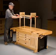 Woodworking Bench Height by Adjustable Workbench Popular Woodworking Magazine