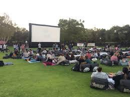 Outdoor Cinema Botanical Gardens Moonlight Cinema Park