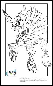 princess celestia with armour my little pony pinterest