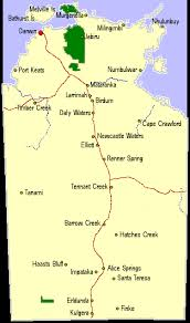 australia map of cities nt travel map of northern territory australia