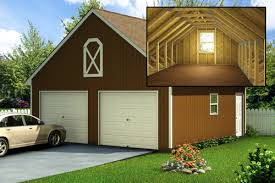 custom building package kits two car garages