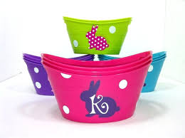 personalized easter buckets personalized easter buckets basket personalized basket personalized