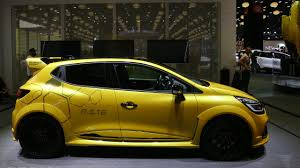 renault paris renault clio r s 16 revealed at paris motor show 2shogy
