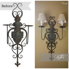 Candle Sconce All Things Beautiful Embellish Candle Sconce Diy