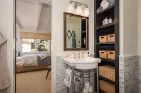 Shelf For Pedestal Sink Small Bathroom Ideas Vanity Storage U0026 Layout Designs