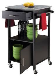 davenport black kitchen cart bar serving carts