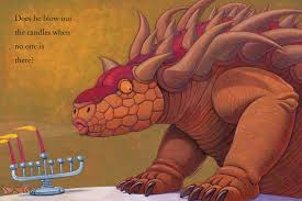 how do dinosaurs say happy chanukah by yolen