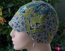 chemo hats with hair attached chemo hats cancer caps bucket hats sun hats by hedart on etsy