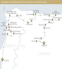 Burgos Spain Map by Ancient Kingdoms Of Spain U0026 Portugal U2014 Tiki Tours Luxury Small