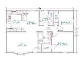 2 bedroom ranch floor plans 1000 sq ft home plans 2 bedroom 20 x 40 floor house plans places