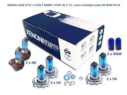 nissan juke xenon headlights 2015 xenon effect car headlight bulbs h8 w5w h4 h4 8 pack amazon co