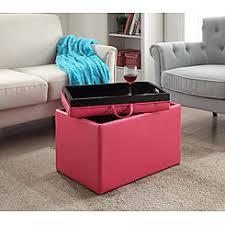 Pink Storage Ottoman Pink Storage Ottomans Sears
