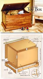 Wood Toy Chest Bench Plans by Wooden Toy Box Bench Plans Bench Decoration