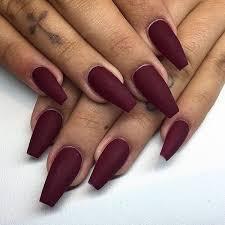 50 burgundy nails designs ideas maroon acrylic nails
