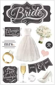 wedding scrapbook stickers the wedding 3 d scrapbook sticker paper house