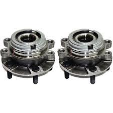 nissan maxima wheel bearing front wheel bearing u0026amp hub pair set of 2 w abs for nissan