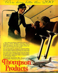 thompson products inc photo albums 1937 thompson products airliner engine valves ad antique vtg