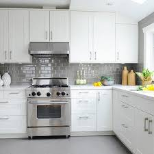 interesting white subway tile kitchen and white subway tile