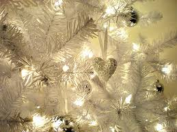 white decorated christmas lights and ornaments pictures photos