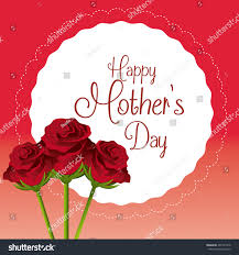 happy mothers day card design vector stock vector 267431918