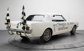mustang of indianapolis million dollar mustang this 1964 5 indy 500 pace car is banking