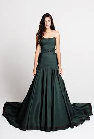 and green wedding dresses green wedding gowns that will you swooning with nature