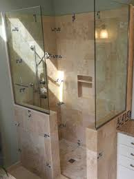 showers for small bathroom ideas doorless showers for small bathroomsmegjturner megjturner