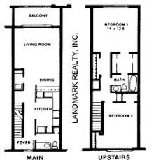 Townhouse House Plans Lot Narrow Plan House Designs Craftsman Narrow Lot House Plans