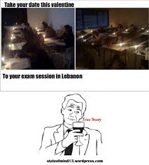 Lebanese Memes - lebanese memes exams in lebanon a separate state of mind a blog