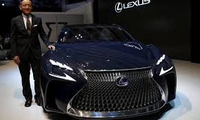 lexus hybrid karachi green self driving cars take center stage at tokyo auto show
