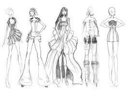 fashion sketches 2 misc by granatmythos on deviantart