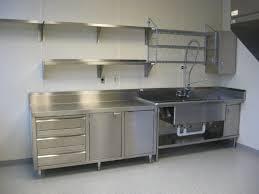 custom stainless steel shelves using stainless steel work bench