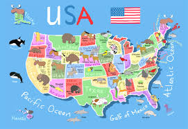 Hawaii World Map Interactive Map Of Usa Powerpoint All World Maps