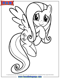 friendship is magic fluttershy coloring page h u0026 m coloring pages