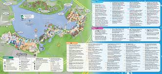 Downtown New Orleans Map by Updated Downtown Disney Map Includes New Stores