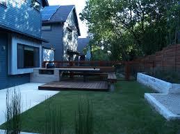 backyard ideas with deck landscaping gardening ideas
