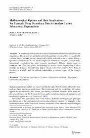 Quantitative Analyst Resume Research Paper Data Analysis Sample