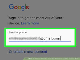 get contacts from android how to transfer contacts from one android to another android device