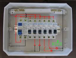 single phase distribution board wiring diagram south africa