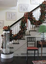 Banister Christmas Garland Chloe U0027s Inspiration Christmas Decoration For Your Staircase