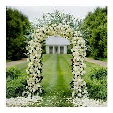 Wedding Arch Garden Wedding Arch Metal Gateway Garden Bridal Party Decoration Arbor